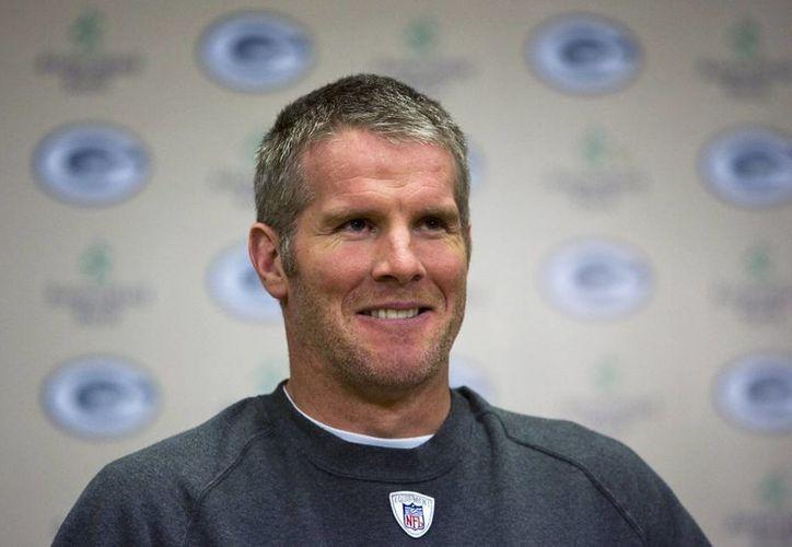 Los Packers retirarán la casaca del quarterback Brett Favre. (AP)