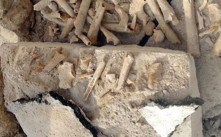 El cronista de Progreso, Romeo Frías Bobadilla, explicó acerca del origen de los huesos encontrados debajo del pavimento en Progreso. (Milenio Novedades)