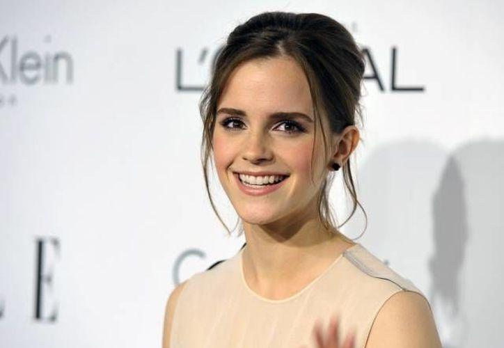 """La actriz británica sonó con mucha fuerza hace un año para protagonizar la versión de """"La Bella y la Bestia"""". (Archivo/SIPSE)"""