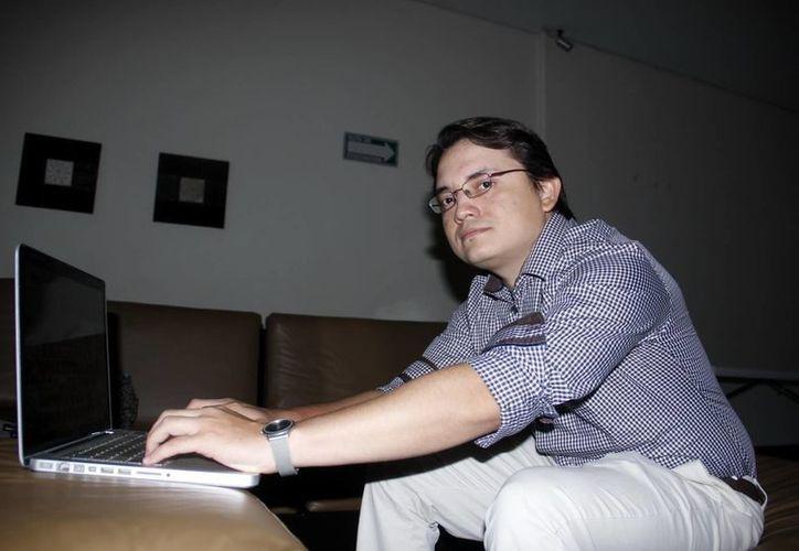 Luis de Jesús López Hernández, fundador de Mero Studios. (Milenio Novedades)
