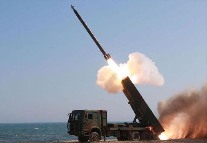 El Departamento de Defensa confirmó que se detectó un misil balístico lanzado a la 1:17 , hora del este de E.U. (Foto: Imagen de contexto)