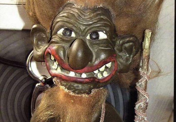 Un troll idéntico a este fue el que tenía don Buenaventura en casa de sus papás. (Jorge Moreno/SIPSE)