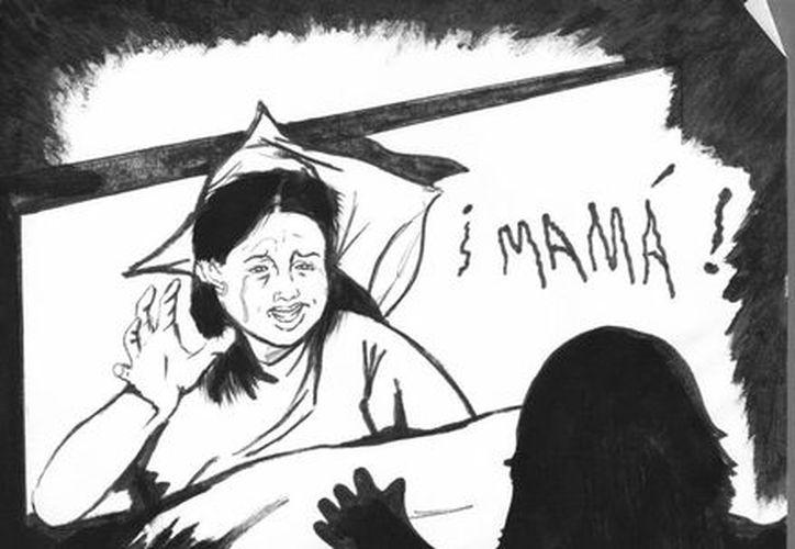 """La """"mujer maldita"""" también fue a casa de su """"cuñada"""" a cometer atroz crimen. (Jorge Moreno/SIPSE)"""