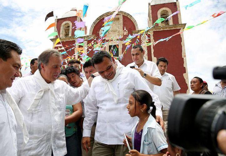 José Antonio Meade busca la candidatura presidencial con el PRI. (SIPSE)