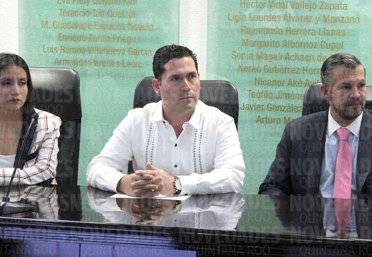 El magistrado fue designado el pasado 26 de diciembre. (Joel Zamora/SIPSE)