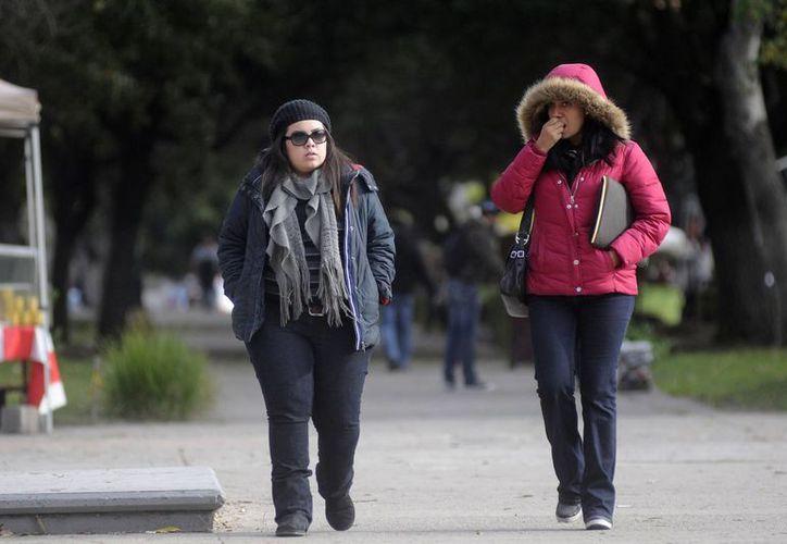 En Temósachic, Chihuahua, se registró una temperatura de menos 6.6 grados centígrados. (Notimex)