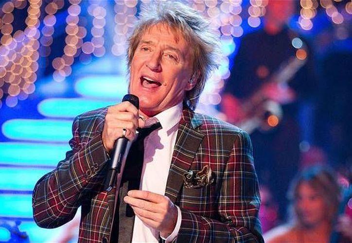 En 2012, Rod Stewart abarrotó el Auditorio Nacional de la CDMX en dos ocasiones. El cantante británico también se presentará en otras ciudades de México.(EFE)