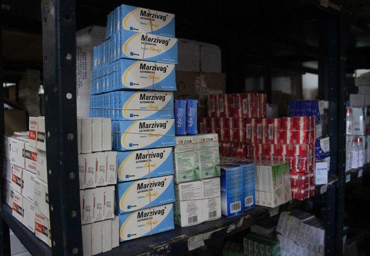 Sesa cuenta con los medicamentos de mayor uso, pero  están pendientes los de menor uso. (Foto: David de la Fuente/SIPSE)