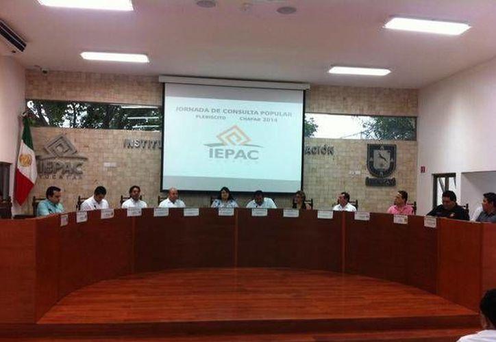 El Ipepac fue el responsable de organizar el plebiscito en Chapab. (SIPSE)