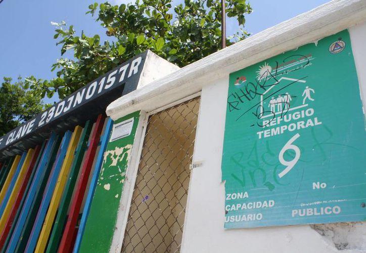 Hoy verificarán las últimas 20 escuelas en el municipio. (Sergio Orozco/SIPSE)