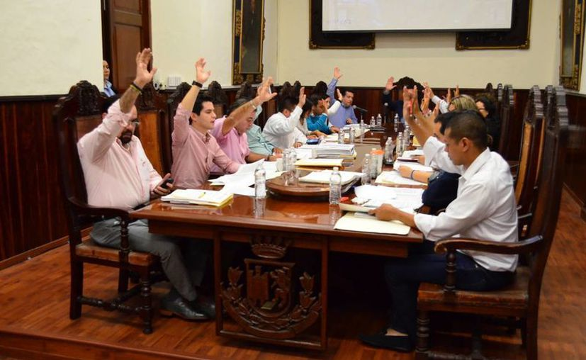 La bancada del PRI denunció la falta de transparencia, rendición de cuentas y compromiso con la ciudadanía del Ayuntamiento de Mérida. (Cortesía)