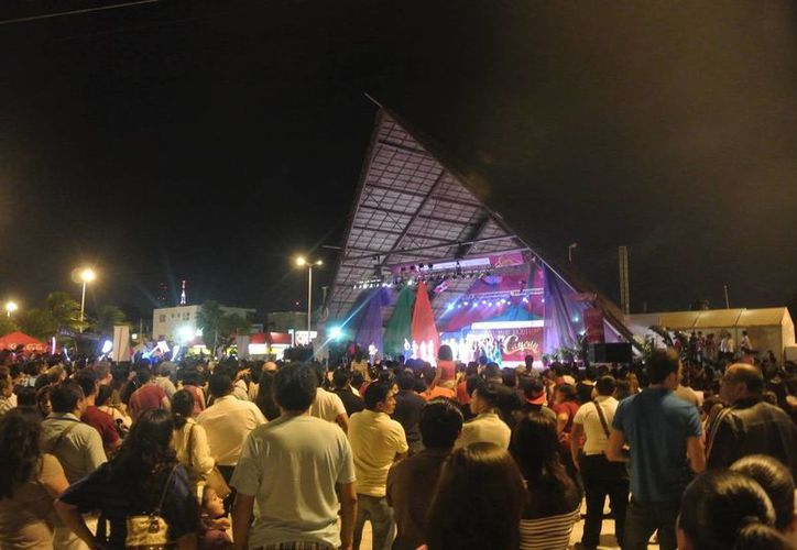 Se tiene previsto dar inicio a los conciertos desde las 4 de la tarde hasta las 11 de la noche. (Redacción/SIPSE)