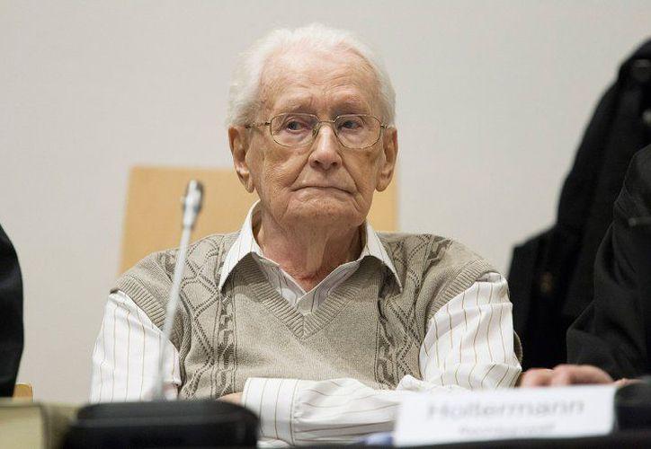 Gröning desembarcó con 21 años en el campo de concentración en la Polonia ocupada en 1942. (Foto: Contexto)