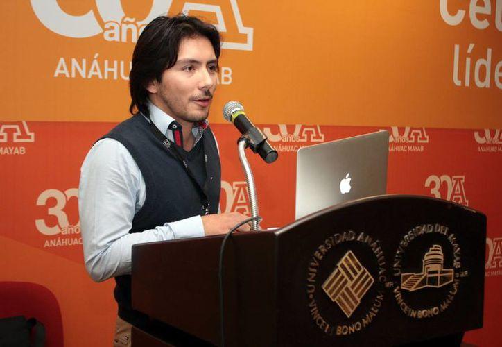 Durante la jornada del I Congreso de Animación y VFX se contó con la presencia de invitados especiales como Erick Hans Guevara (HCG Tech). (Milenio Novedades)