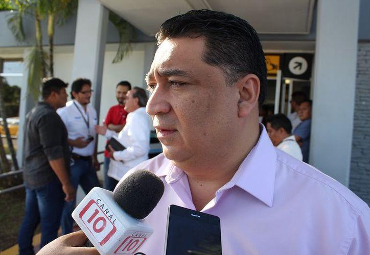 Eduardo Martínez Arcila, asegura que la Ley de Movilidad seguirá su curso. (Foto: Benjamín Pat)
