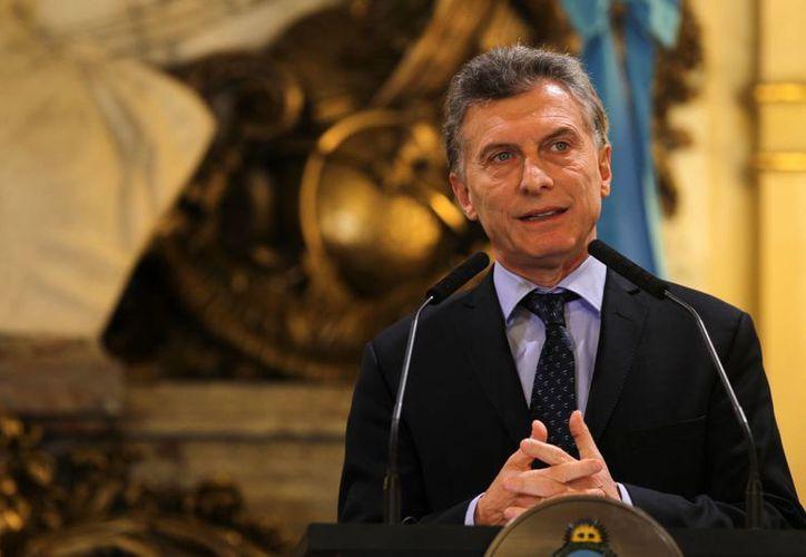 El presidente Mauricio Macri ha sido objeto de reiteradas amenazas telefónicas y a través de las redes sociales. (EFE/Archivo)