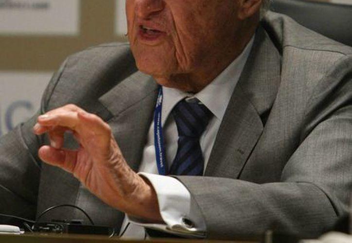 Havelange, de 98 años, fue presidente de la FIFA durante 24 años. (EFE/Archivo)