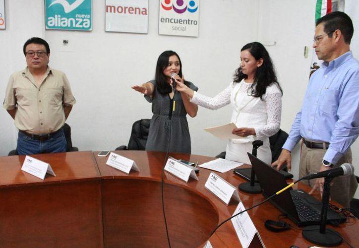 Yesenia Marlene Polanco Dzul es la nueva vocal de Organización en la Junta Distrital 03 del INE. (Luis Soto/SIPSE)