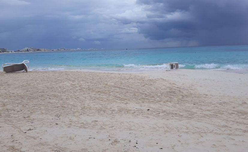 Los hechos ocurrieron en una playa de la zona hotelera de Cancún. (Redacción/ SIPSE)