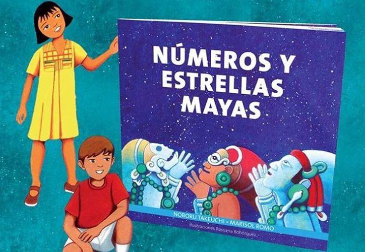 El material didáctico de Números y Estrellas Mayas es claro y bastante ameno para la niñez. (Milenio Novedades)