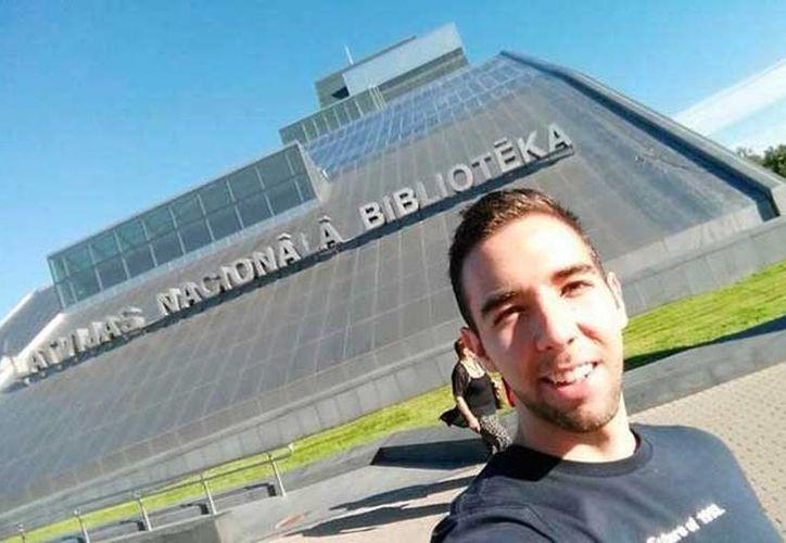 Daniel Reynoso Lesperance viajó a Letonia como parte del programa de intercambios estudiantiles del Instituto Tecnológico de Estudios Superiores de Monterrey (ITESM) Campus Estado de México.  (change.org)