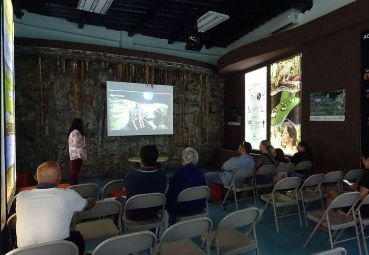 La presentación de la película pueden hacerla en el interior del planetario o el exterior. (Octavio Martínez/SIPSE)