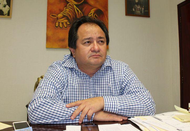 Roger Peraza Tamayo, señaló que los candidatos no tienen que ser perredistas, pero defienden cuadros que han construido cuadros en el municipio. (Joel Zamora/SIPSE)