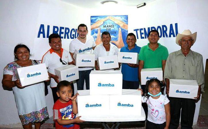La plataforma digital Áamba brinda apoyo para los que menos tienen a través de internet. (Milenio Novedades)