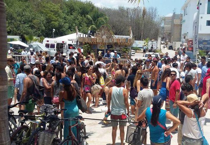 Los hoteleros de la Riviera Maya esperan tener al menos 80% de ocupación durante el verano. (Daniel Pacheco/SIPSE)
