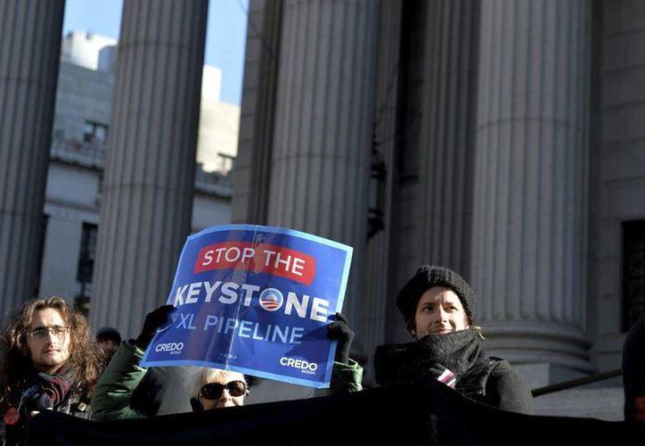 La Casa Blanca se ha negado a pronunciarse sobre la construcción del oleoducto Keystone XL hasta que finalicen todas las revisiones y estudios de impacto ambiental de este proyecto transfronterizo. (Archivo/EFE)