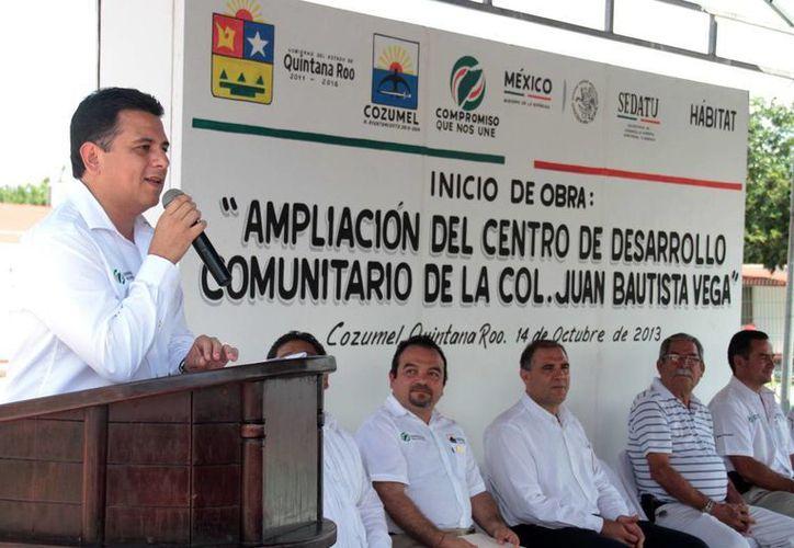 Anuncian la ampliación del Centro de Desarrollo Comunitario. (Cortesía/SIPSE)