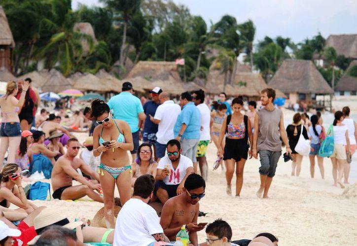 Los turistas optan por este destino turístico por la calidad en los servicios. (Octavio Martínez/SIPSE)