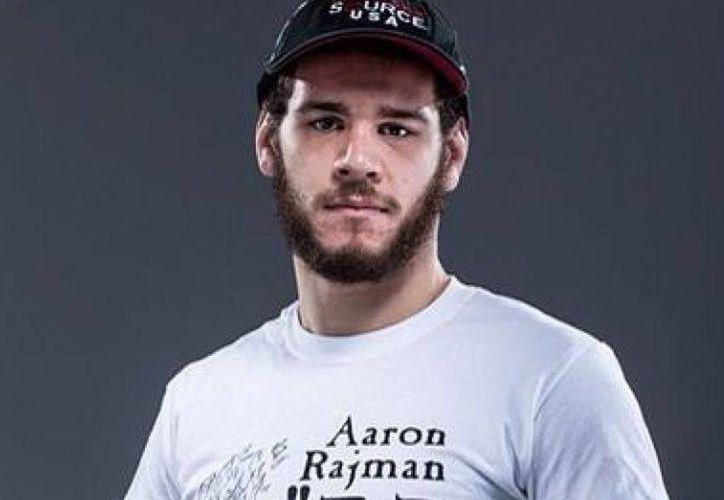 Aaron Rajman, peleador profesional de artes marciales mixtas, fue asesinado a tiros. (Contexto/Internet).