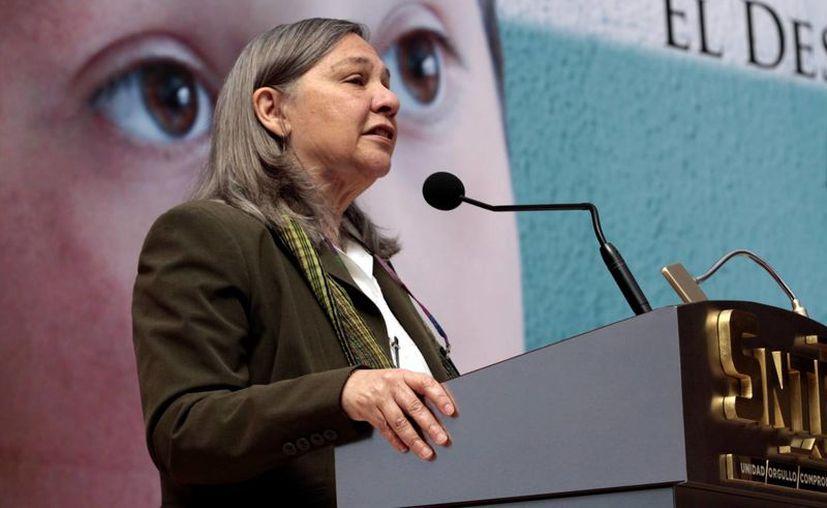 La presentación de los resultados de Planea estuvo encabezada por la Consejera Presidenta del INEE, Sylvia Schmelkes del Valle. (Archivo/Notimex)