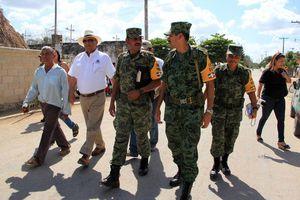 El Ejército Mexicano se despliega para ayudar