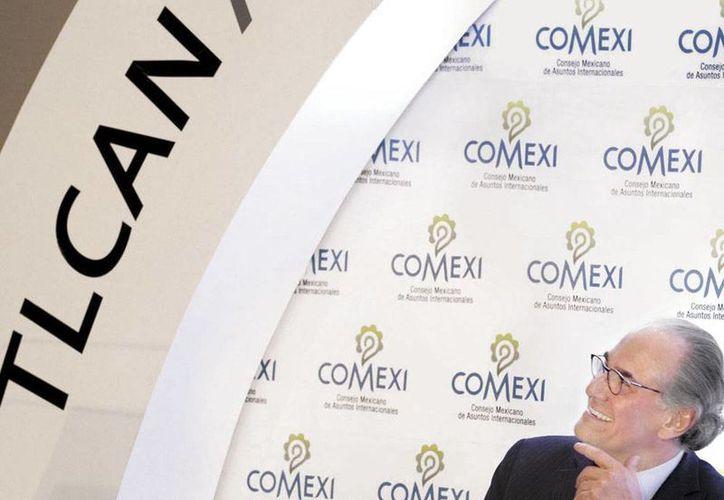 Herminio Blanco, exjefe negociador del acuerdo comercial dijo que es necesario entrar en un proceso de modernización de las fronteras. (Milenio)