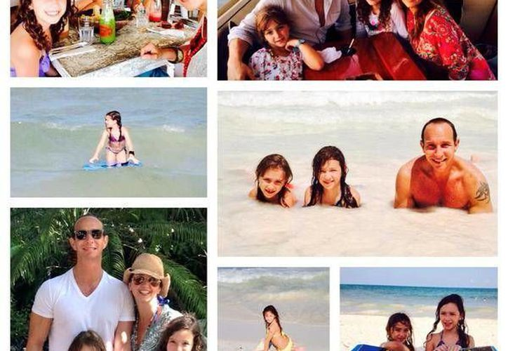 La también actriz, Andrea Legarreta, twitteo: #PaMaMiaYNina #VacacionesEnFamilia #RivieraMaya Estuvo maravilloso!! Lo necesitábamos @erikrubin. (Foto/@AndreaLegarreta)
