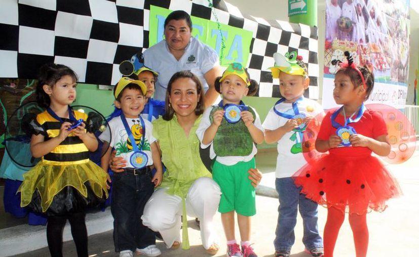 En varias de las instalaciones del DIF Municipal se atiende principalmente a niños. (SIPSE)