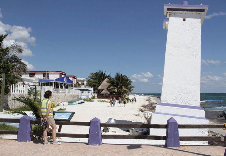 Modernizarán las primeras calles de Puerto Morelos. (Tomás Álvarez/SIPSE)
