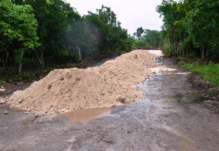 """La pasada administración municipal """"heredó"""" proyectos de pavimentación. (Carlos Horta/SIPSE)"""