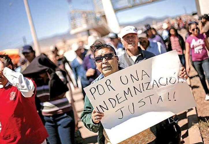 Comunidades del río Sonora están indignadas por la falta de atención hacia sus enfermedades. (Excélsior)