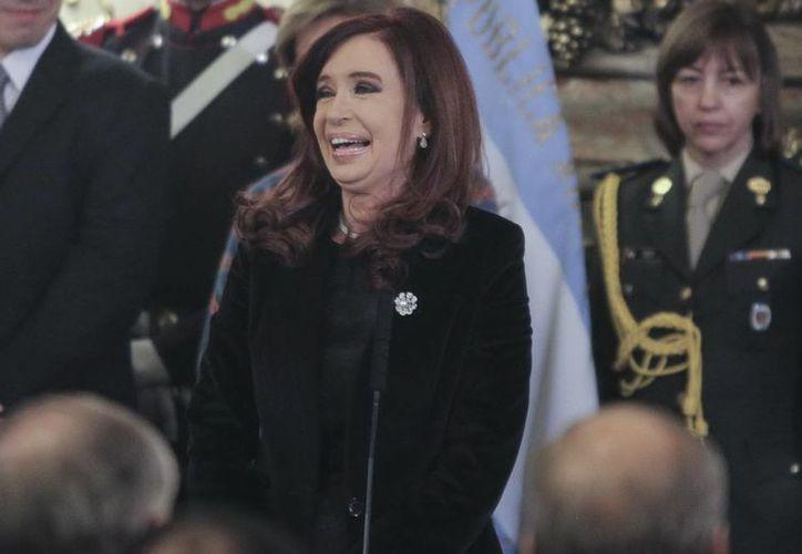 La presidenta argentina Cristina Fernández. (Archivo/EFE)