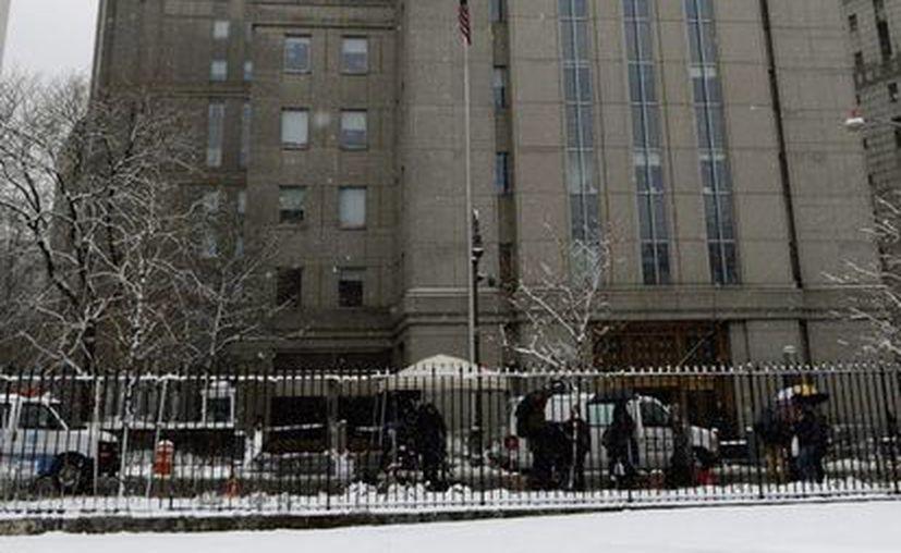 Vista general del tribunal del Distrito Sur de Nueva York, donde se está juzgando a Suleimán Abu Ghaith. (EFE)