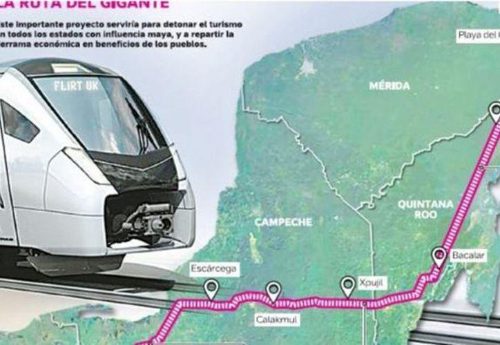 Empresas como Bombardier, ASUR, grupo Posadas y Vidanta también manifestaron interés en el proyecto. (Archivo)