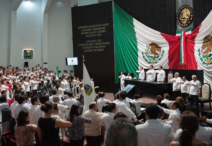 En el XL Aniversario de la Promulgación de la Constitución Política de Quintana Roo, se resaltó el desarrollo del Estado. (Redacción/SIPSE)