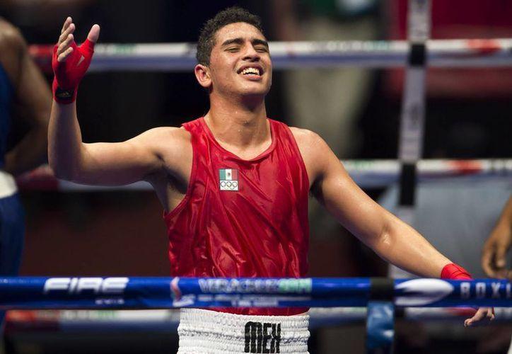 Raúl Curiel se iba a enfrentar al boxeador chino Qianxun Hu, en la categoría de los 64 kg en la justa olímpica. (Foto tomada de Conade)