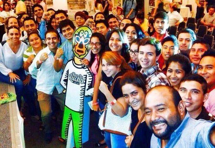La agrupación reúne a jóvenes emprendedores. (Milenio Novedades)