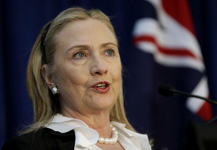 Hillary Clinton fue dada de alta este miércoles en un hospital de Nueva York. (Agencias)