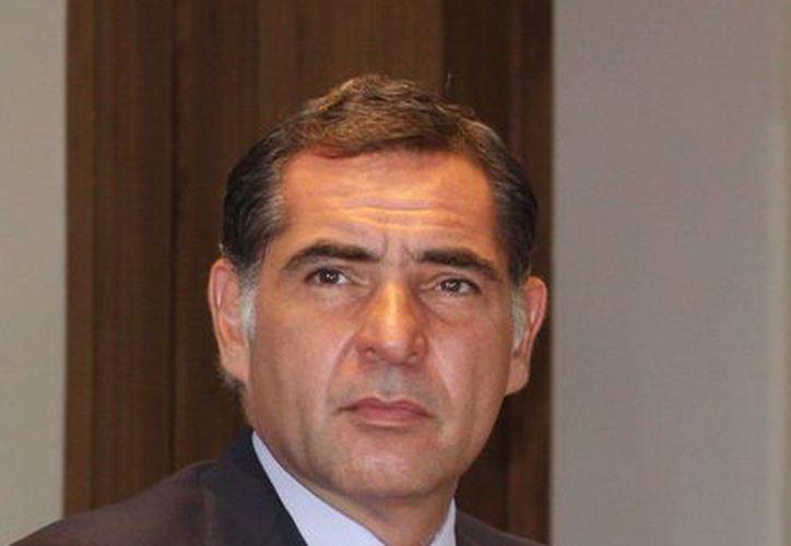 Gabino Cué, gobernador de Oaxaca, es uno de los denunciados por el secretario general de la sección 59 de la SNTE. (www.oaxaca.gob.mx/Archivo)