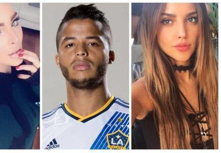 Belinda, Gio Dos Santos y Eiza González. El trío amoroso que este martes ha estado en boca de todos. (Imagen tomada de SDP)